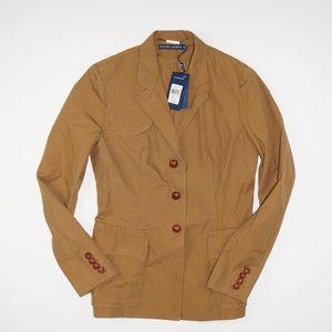 Ralph Lauren Camel Riding Jacket Blazer
